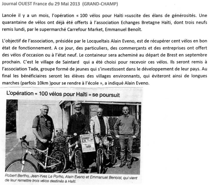 ouest France 29052013